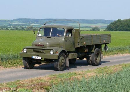 Praga S5t | Staré náklaďáky
