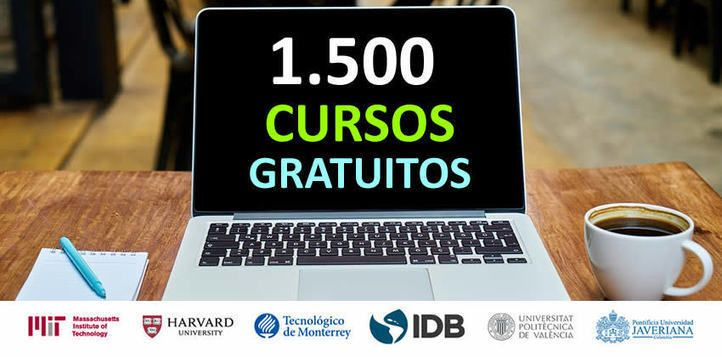 1.500 cursos online gratuitos con certificado
