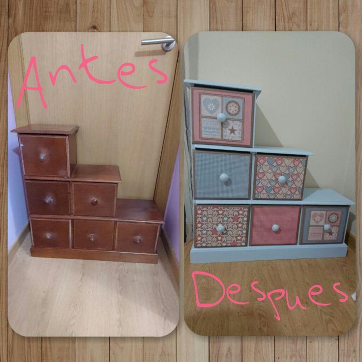 9 best transformación de muebles Laudecó images on Pinterest ...