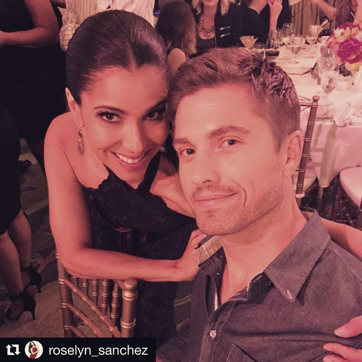 Great event with @roselyn_sanchez and friends. Making a difference for these young women. ・・・ With my love at the Eva Longoria Foundation Gala... #empoweringyounglatinas #education #entrepenuership #evaisnextlevel