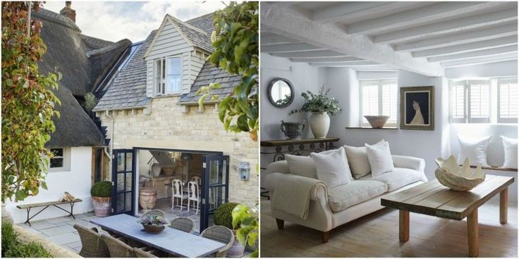 This Cotswold cottage has been transformed into a modern rustic dream home