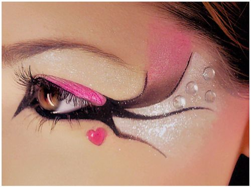 Eyes makeup inspiration #beautiful #creative #eyes #makeup