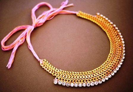 Ожерелье из цепочек (12)