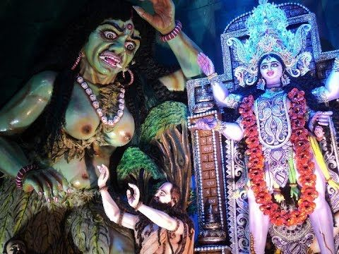 The Famous Kali Puja Of New Star Club Naihati 2014.....