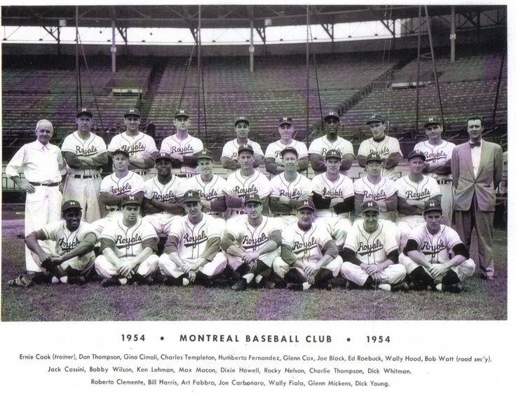 1954 Montreal Royals