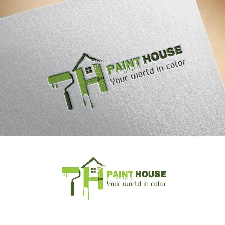 logo for a Paint company