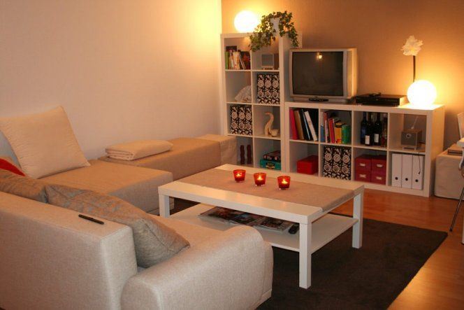 wohnzimmer 'wohn-, schlaf- und arbeitszimmer' | livingroom ideas, Wohnzimmer dekoo