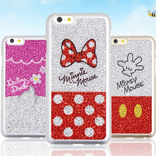 Authentic Disney Cubic Case Galaxy S6 Case 4 Types Mobile Case made in Korea #Disney