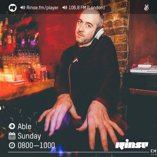 Rinse FM Podcast - Able - 14th August 2016 by Rinse FM on @SoundCloud @ablegimmegroove