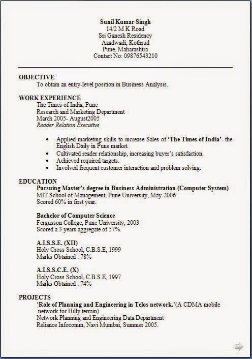 generator cv Download Free Excellent CV   Resume   Curriculum - resume objective generator