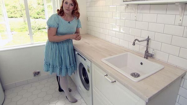 Så fina härliga tips till tvättstugan.
