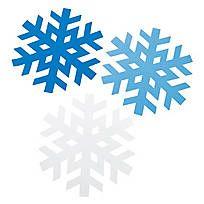 Enormous Snowflake Shapes - 13670190  $6.99 a dozen