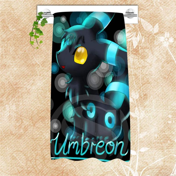 Hot Custom Cartoon Pokemon Eevee Big Size 140x70cm Cotton Bath Towel Popular Shower Towel For your family SQ0708-LOPQ42