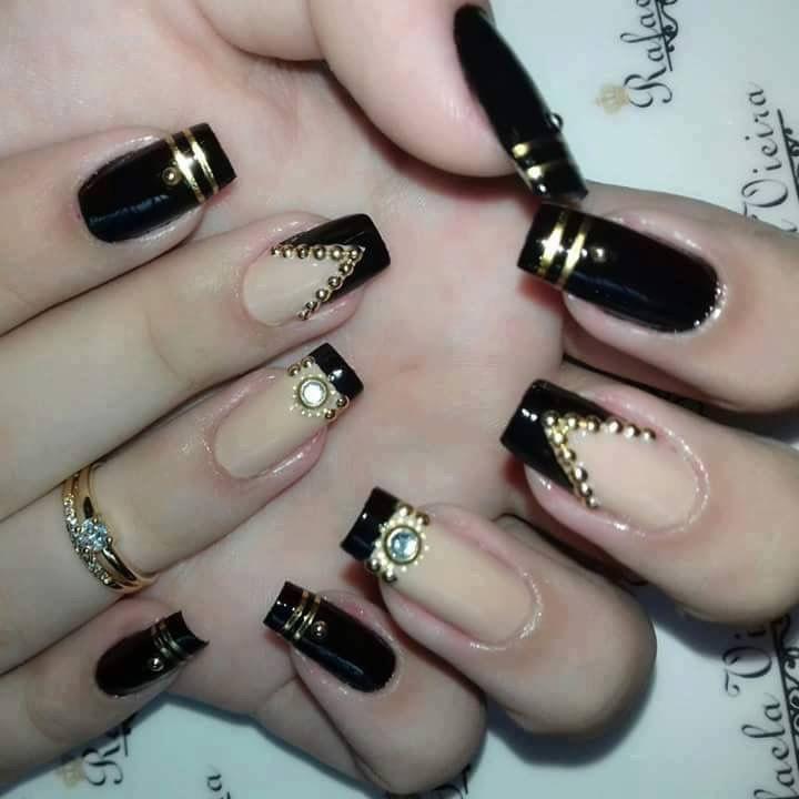 Mejores 498 imágenes de Nails en Pinterest | Uñas bonitas, Arte de ...