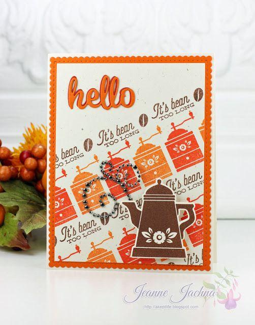 Fall Coffee Lovers Blog Hop - It's Bean Too Long!m #waltzingmouse, #coffee
