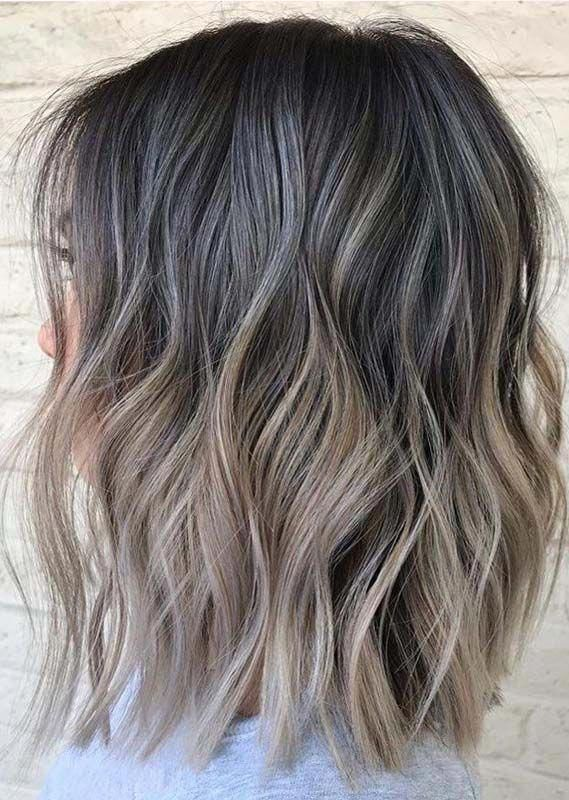 Beauty Of Balayage Hair Colors Trends to Follow in 2019 #haircolorbalayage