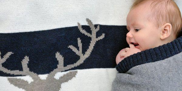 Mooi Baby Alpaca blanket