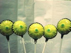 Coklat lolipop bunga matahari |lolipop coklat sun flower.  Hanya Rp.3500,00