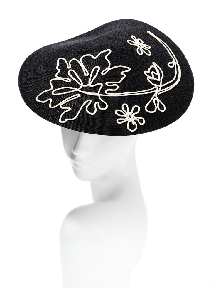 oh, the glamour! -100% string and cotton -handmade string work -elastic fit by Hatmaker Jonathan Howard www.hatmaker.com.au #SpringRacing #AutumnCarnival