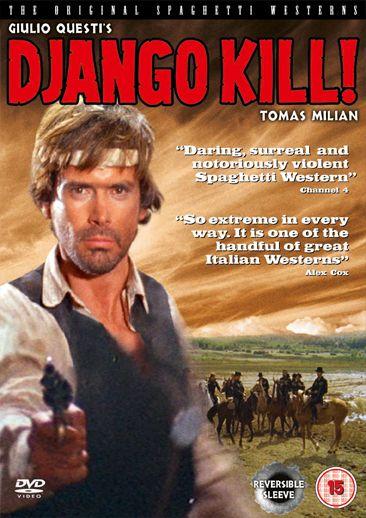Django Kill! - DVD release  - Argent Films.