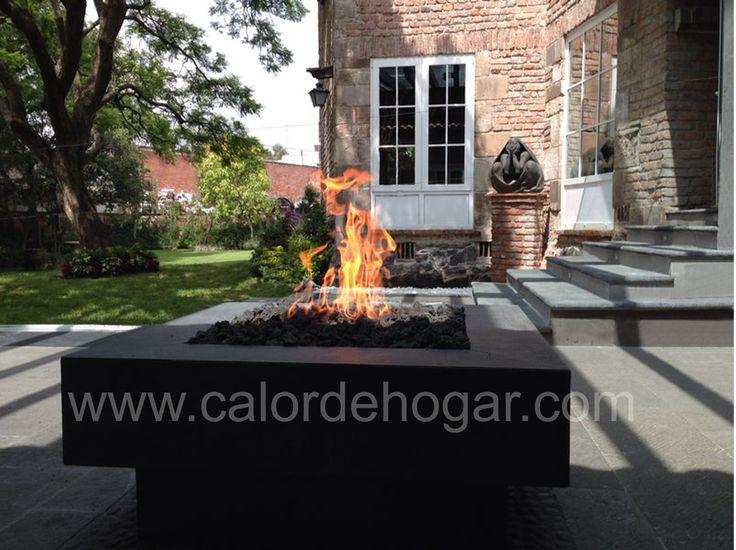 chimenea de gas para exterior loft ultimate chimeneas firepit