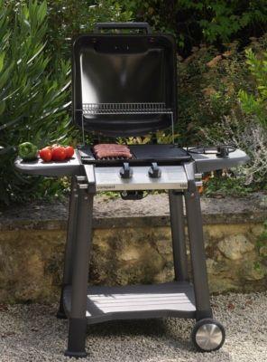 Barbecue ET plancha, vous n'aurez que l'embarras du choix pour vos repas avec Le GRANDHALL compact 105