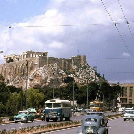 <p>Η Ακρόπολη εν έτει 1961</p>
