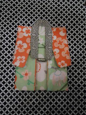 Fabric origami kimono tutorial!