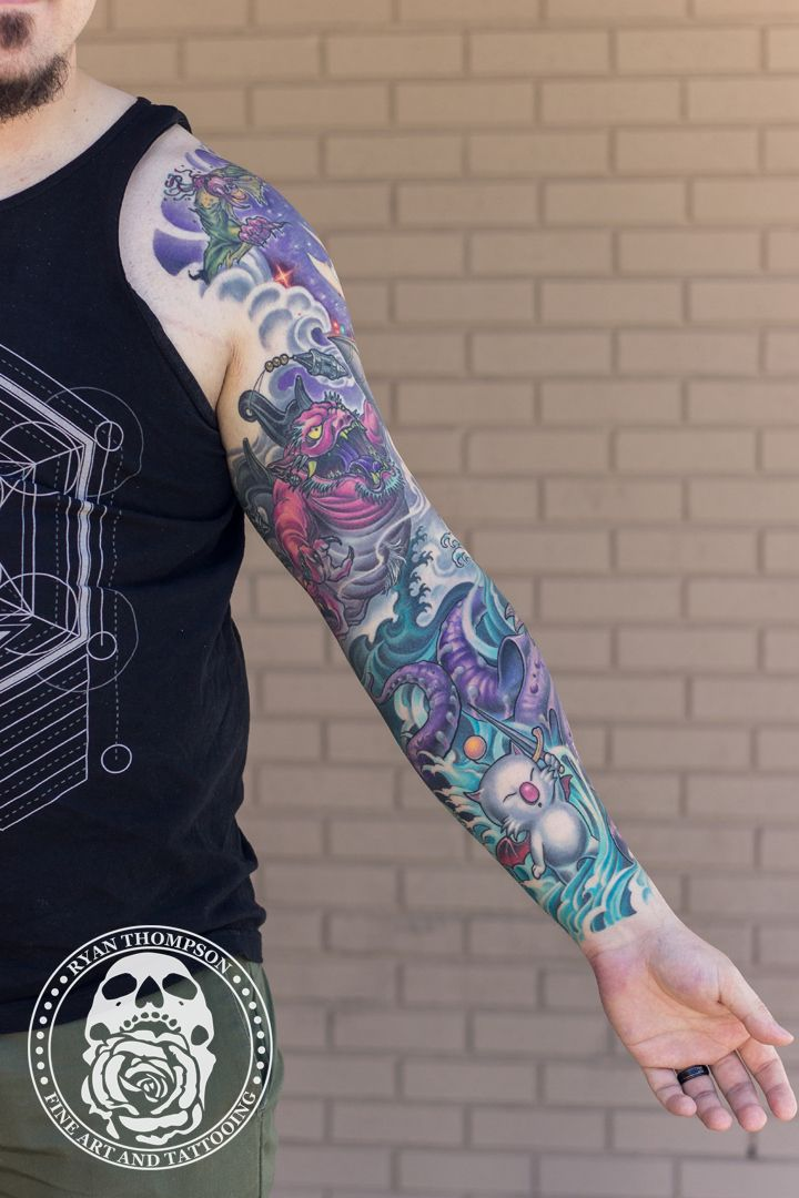Pin By Ryan Thompson On Final Fantasy Tattoo In 2020 Final