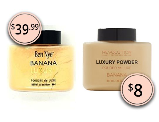Makeup Dupes 2017: Ben Nye Luxury Banana Powder & Makeup Revolution Luxury Banana Powder