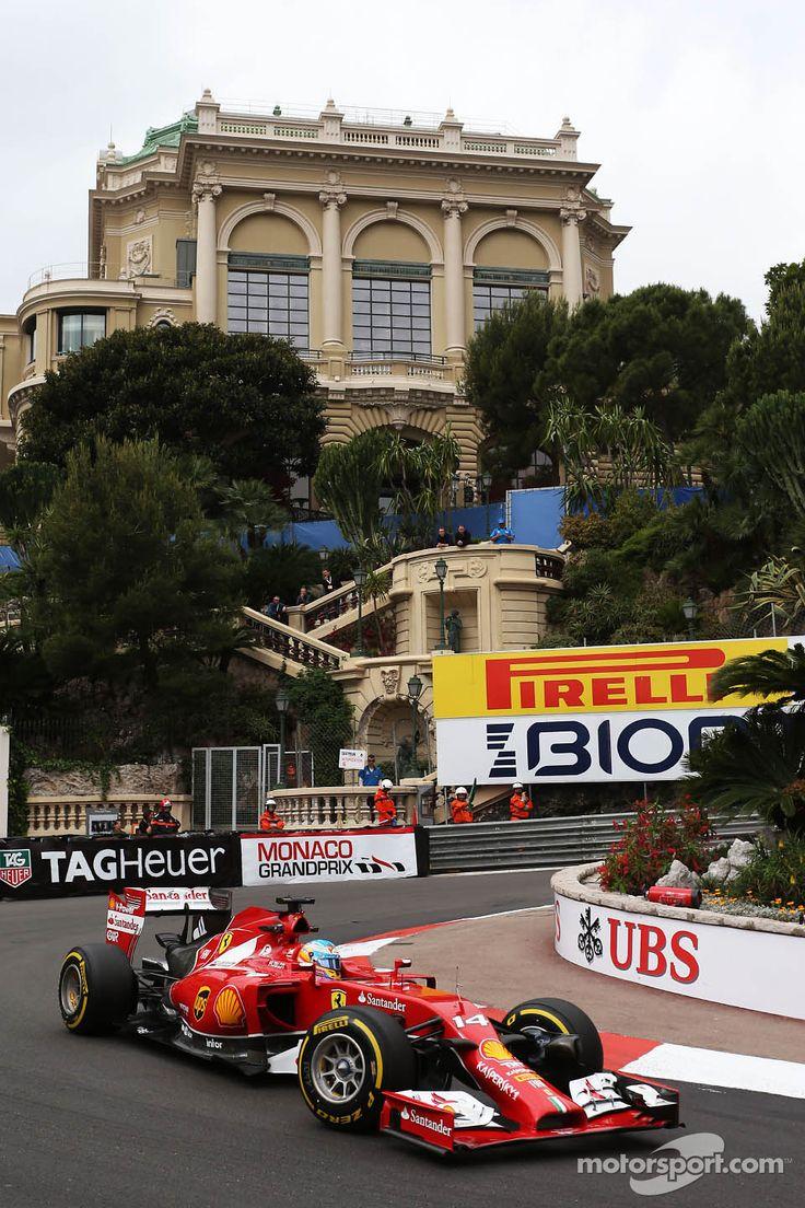 Fernando Alonso - 2014 Monaco GP FP1