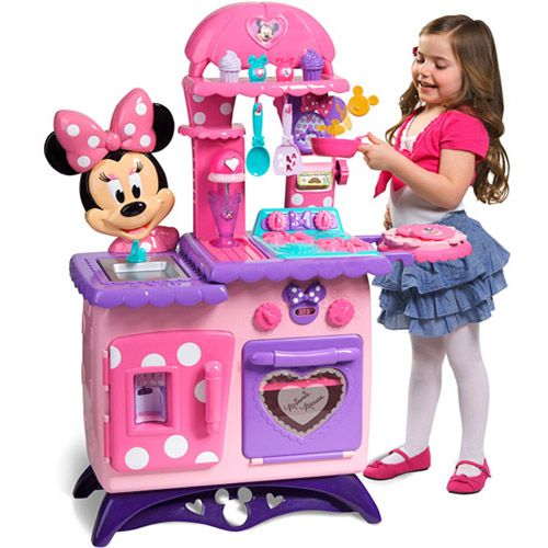 Minnie Mouse Bow Tique Flipping Fun Play Kitchen 55