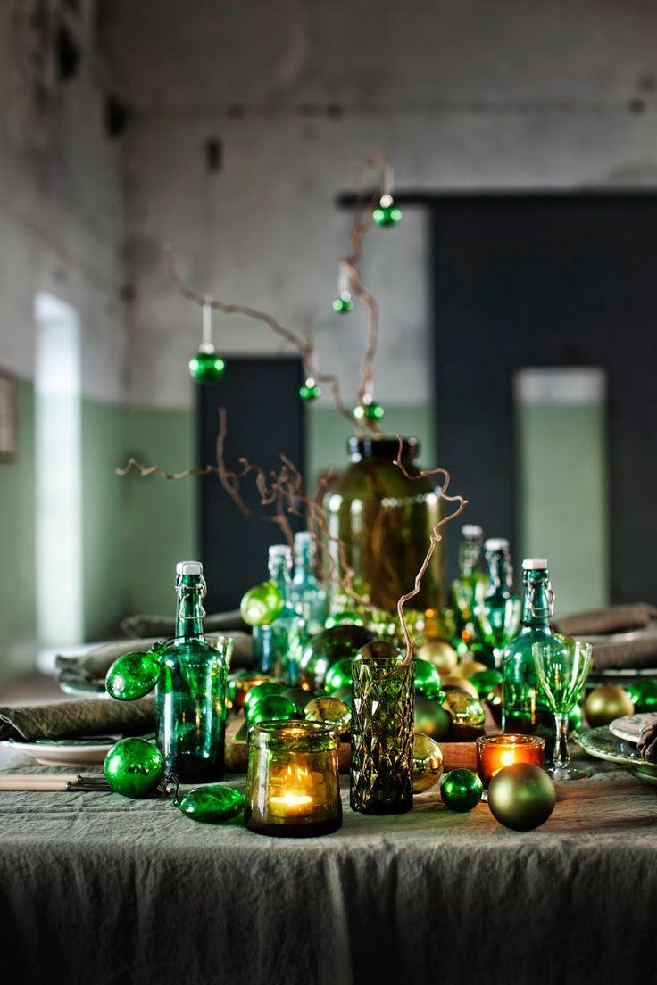 Nu finns mina och Lina Östlings tre juldukningar ute i Sköna hem . Hoppas det kan inspirera till...