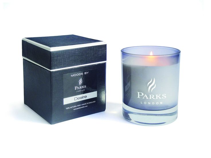 PARKS Moods 1 Wick Colour Therapy Candle 'Black' - With Luxury Gift Box