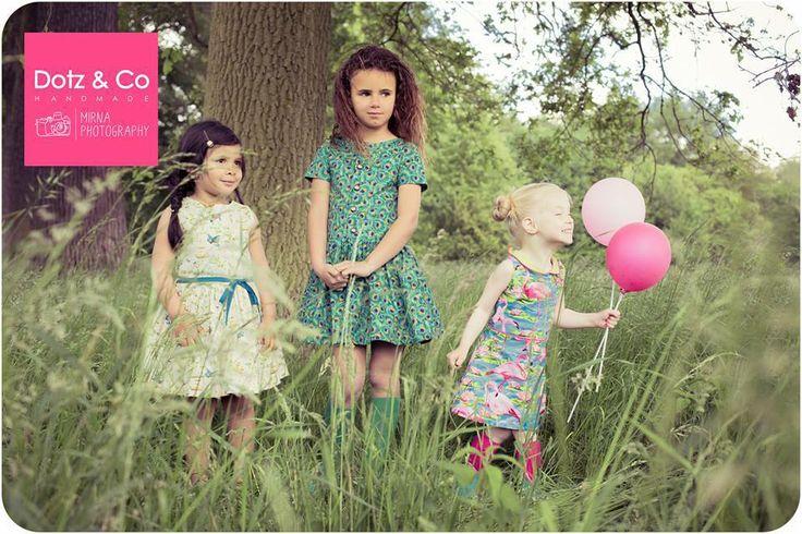 Ontwerp handgemaakte kinderkledij en accessoires: Dotz & Co  Styling/photography: Mirna Photography