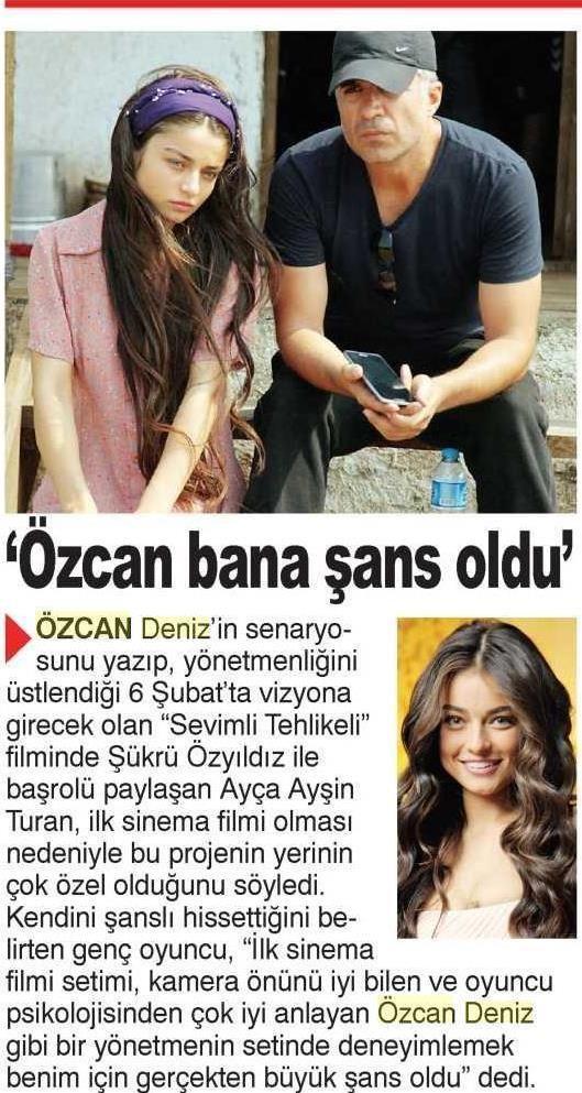 ÖZCAN DENİZ BANA ŞANS OLDU / Şok (07.01.2015)