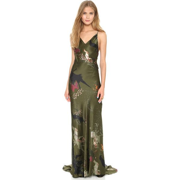 12 best far out fashion unusual but not ugly dresses images on not an ugly dress haute hippie strappy back gown featuring polyvore fashion clothing dresses gowns junglespirit Image collections