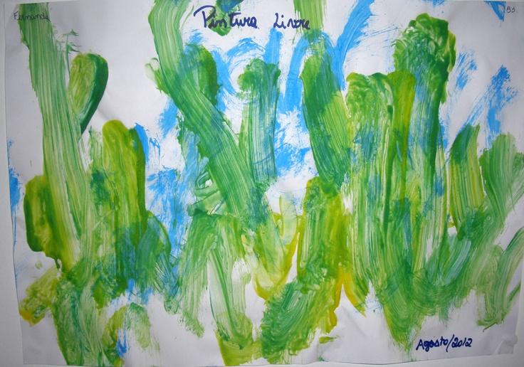 """""""Algas Marinhas""""   Agosto 2012  Trabalho na creche"""
