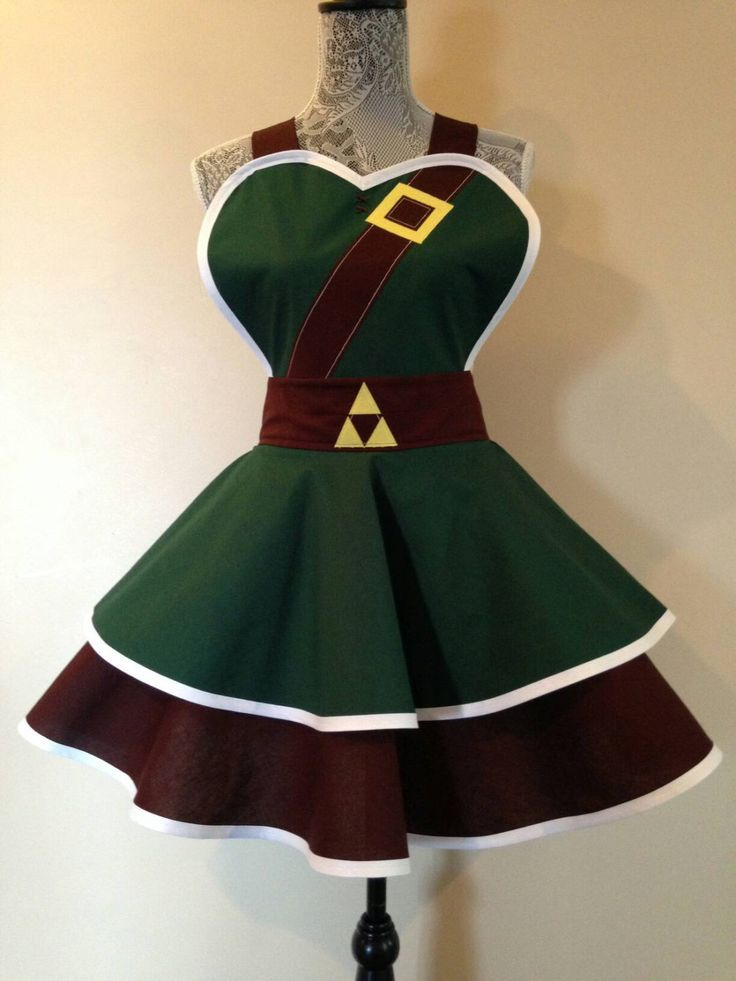 Link - Navi - Zelda - Link apron - retro apron - costume cosplay -Link Costume - womens apron by AriaApparel on Etsy https://www.etsy.com/listing/205151810/link-navi-zelda-link-apron-retro-apron