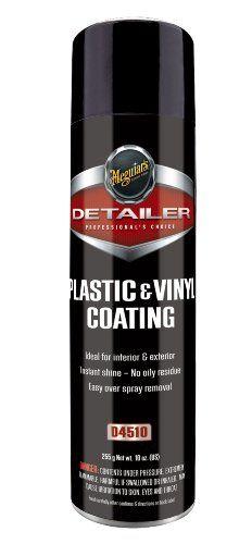 Meguiar's D4510 Plastic & Vinyl Coating - 10 oz.