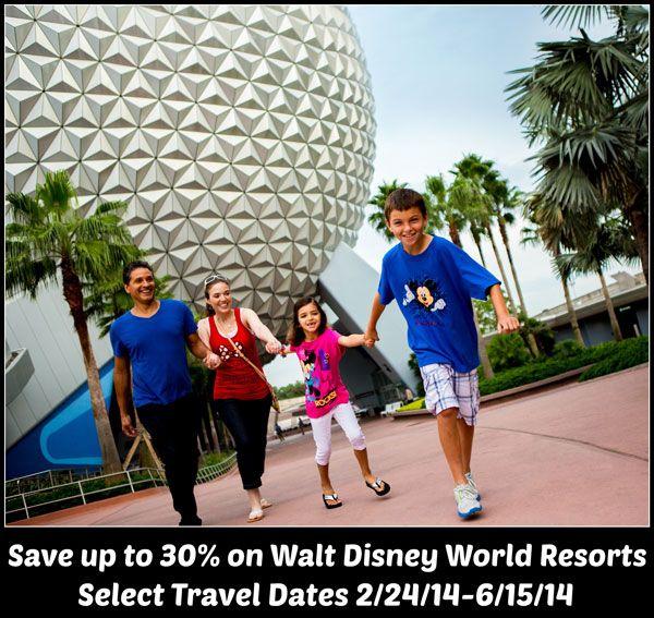 Walt disney world vacation deals