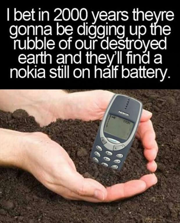 its tru these phones hold battery life but the phones now hv to do so much more than these and so ppl r on them more which causes the battery life to die/