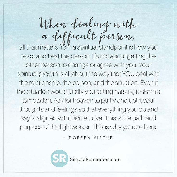 doreen virtue difficult relationship lightworker 2t5m - Simple Reminders — GoMcGill.com
