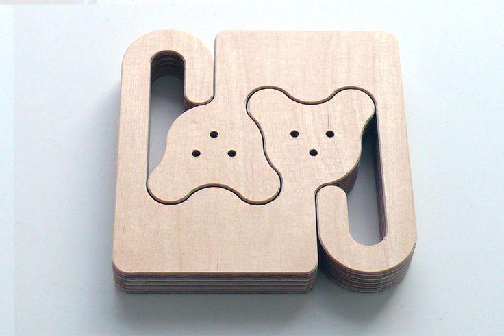 Quebra-cabeças que estimulam a percepção das formas de maneira criativa