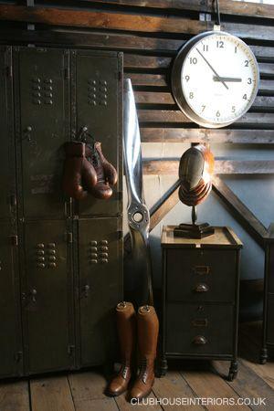 vintage locker room props - Google Search