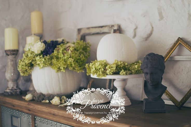 white fall decoration