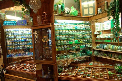 Bead shop, Paris