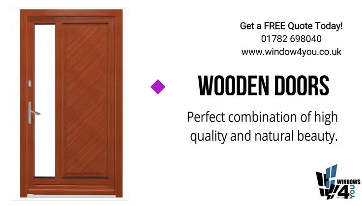 🚪 Wooden doors 🚪  Perfect combination of high quality and natural beauty.  Get a FREE Quote Today! · 10 Year Guarantee · 📞 01782 698 040 🗺 Unit 6 Dalewood Rd Newcastle ST5 9QH ✔ www.window4you.co.uk 🕢 Open hours 9am - 5pm  #StokeonTrent #NewcastleunderLym #Walsall #Stafford #Derby #Chesterfield #Sheffield #Warrington #Northwich #Shrewsbury #Chester #Oswestry #Macclesfield #Congleton #Crewe #Nantwich #Whitchurch #Leek #Eccleshall #Market #Drayton #Winsford #Madeley #Alsager