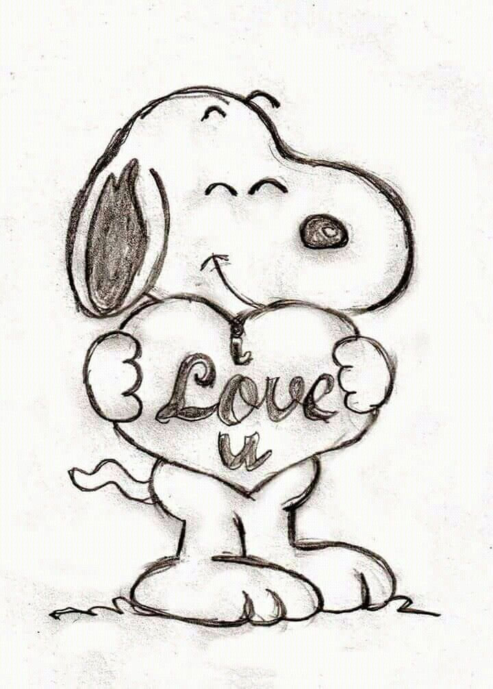 Pin De Monica Grana En Snoopy Dibujos Bonitos Dibujos Tristes