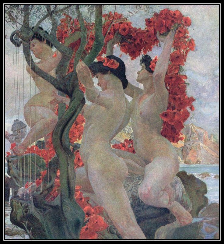 Otto Greiner - Ulysse et les sirènes